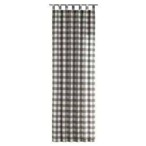 Zasłona na szelkach 1 szt. 1szt 130x260 cm w kolekcji Quadro, tkanina: 136-13