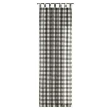 Zasłona na szelkach 1 szt. w kolekcji Quadro, tkanina: 136-13