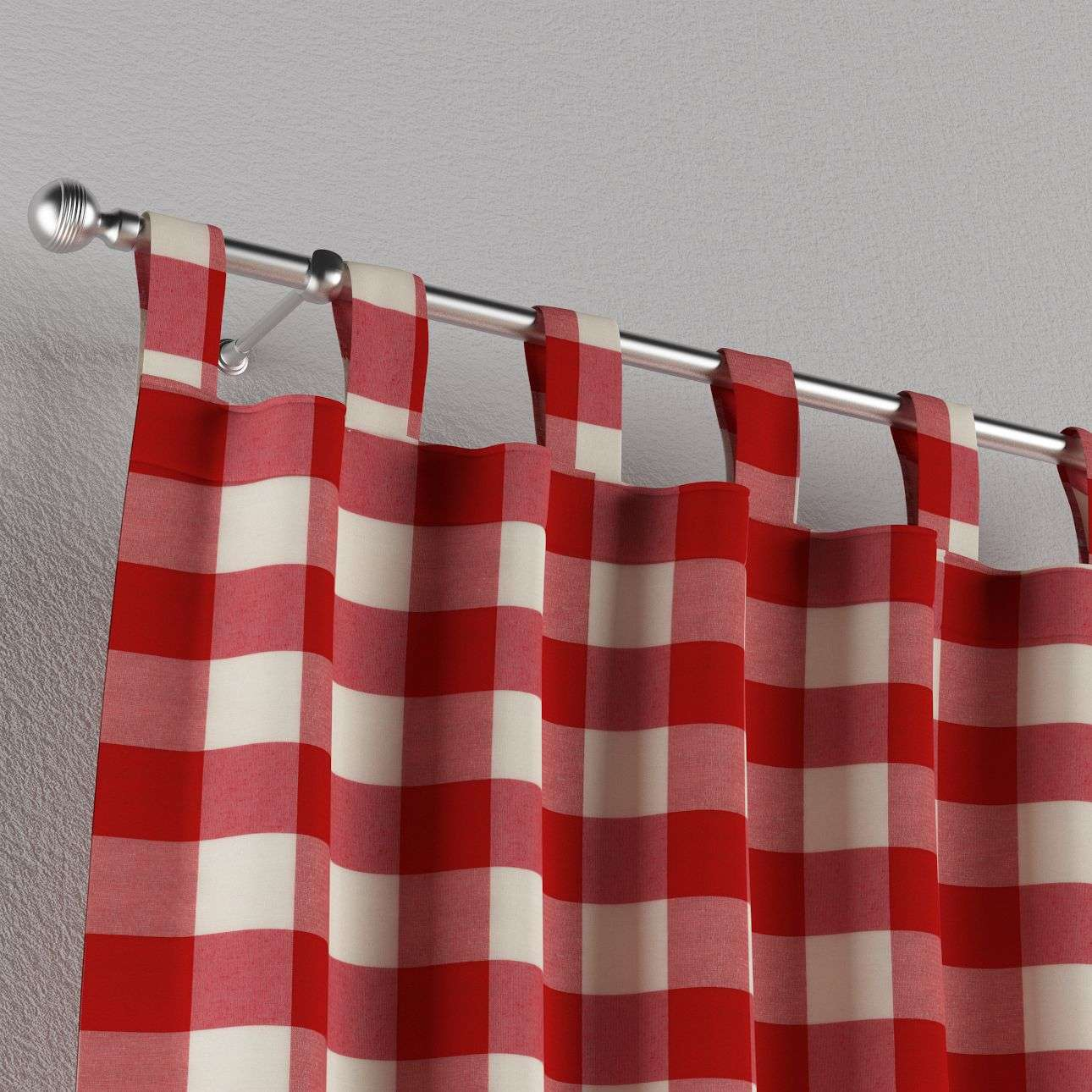 Záves na pútkach V kolekcii Quadro, tkanina: 136-18