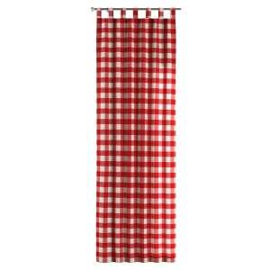 Zasłona na szelkach 1 szt. 1szt 130x260 cm w kolekcji Quadro, tkanina: 136-18