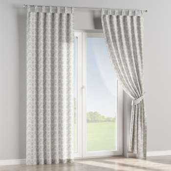 Tab top curtains 130 x 260 cm (51 x 102 inch) in collection Flowers, fabric: 311-13
