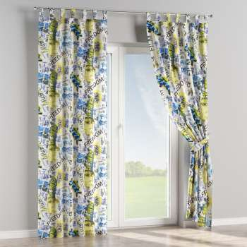 Tab top curtains in collection Freestyle, fabric: 135-08