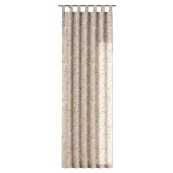 Gardin med hällor 1 längd 130 x 260 cm i kollektionen Flowers, Tyg: 311-12