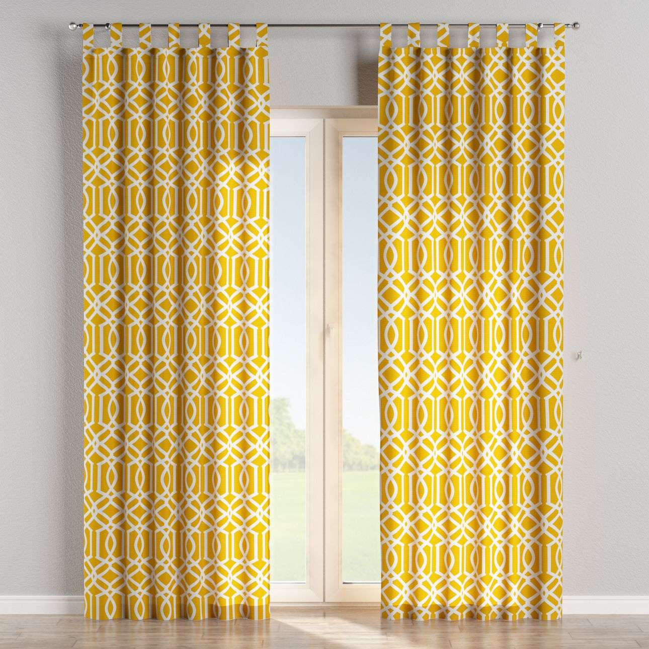 Tab top curtains in collection Comics/Geometrical, fabric: 135-09