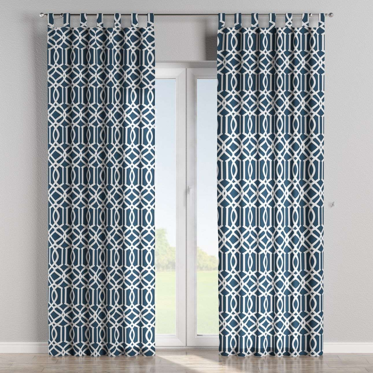 Tab top curtains in collection Comics/Geometrical, fabric: 135-10