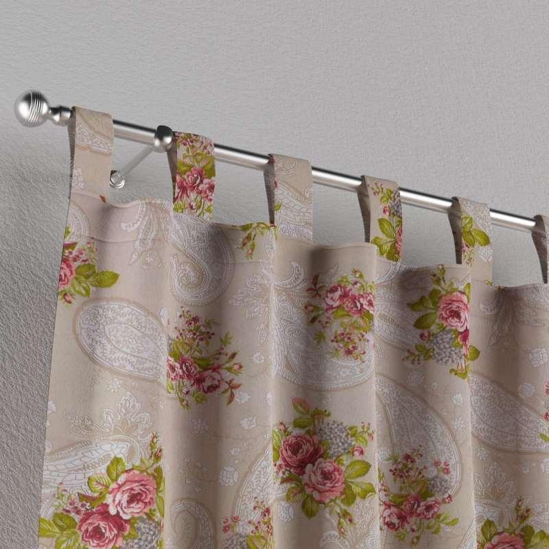 Záves na pútkach V kolekcii Flowers, tkanina: 311-15