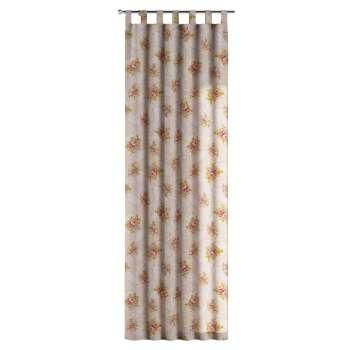Füles függöny 130 x 260 cm a kollekcióból Lakástextil Flowers/Luna, Dekoranyag: 311-15