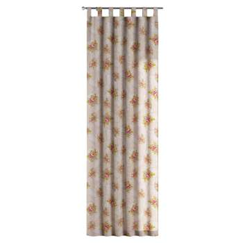 Zasłona na szelkach 1 szt. 1szt 130x260 cm w kolekcji Flowers, tkanina: 311-15