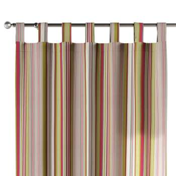 Tab top curtains 130 × 260 cm (51 × 102 inch) in collection Flowers, fabric: 311-16