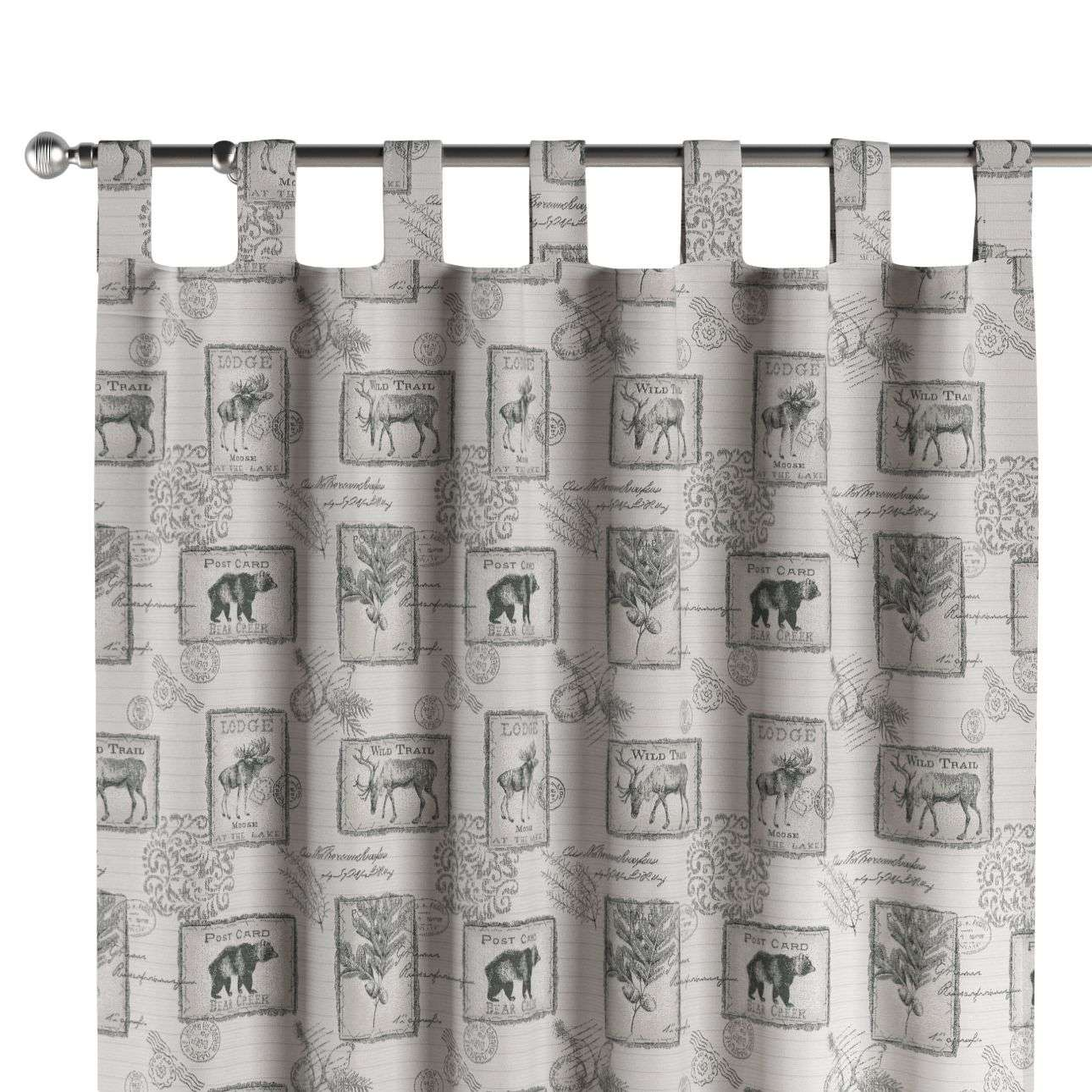 Tab top curtains in collection SALE, fabric: 630-18