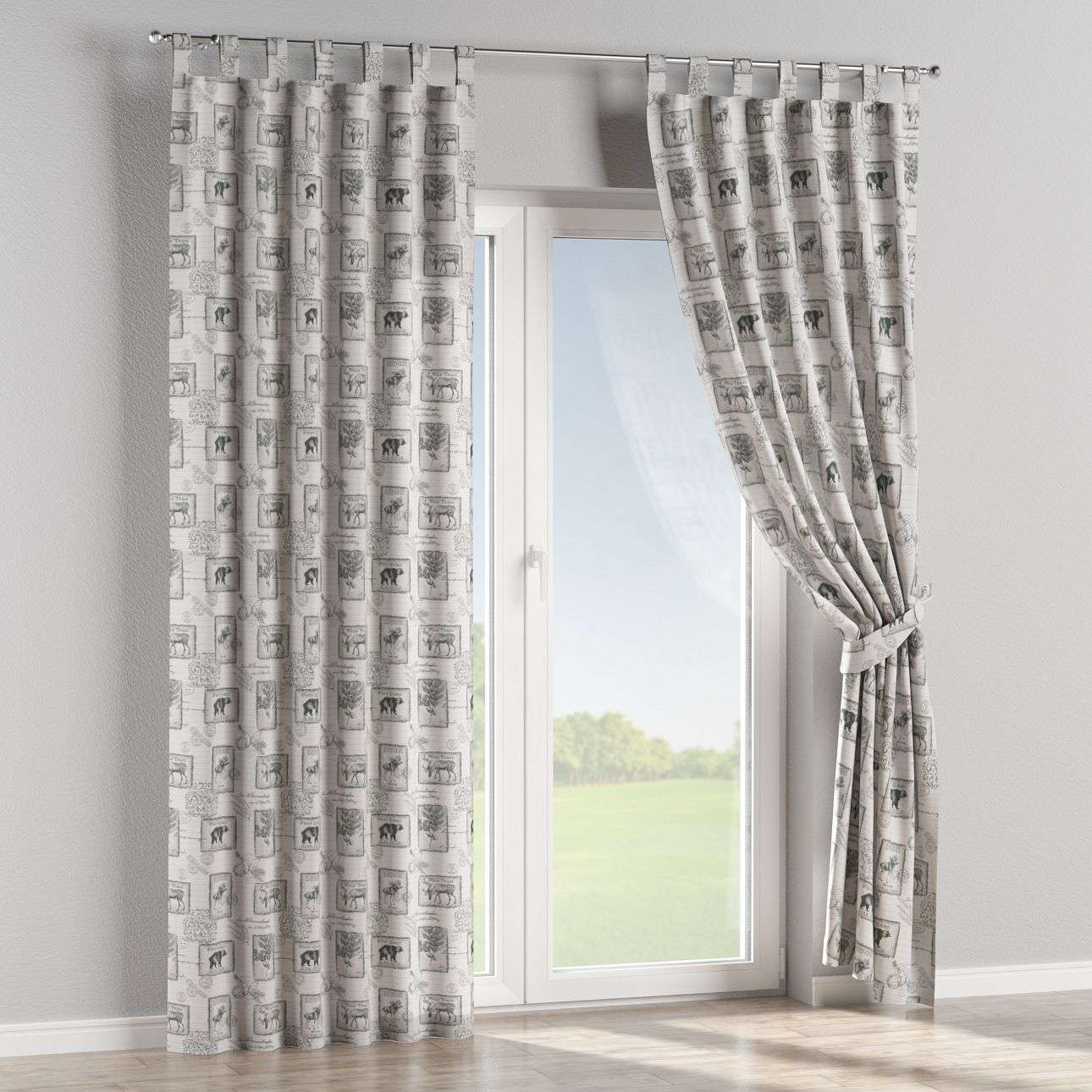 Tab top curtains 130 × 260 cm (51 × 102 inch) in collection SALE, fabric: 630-18