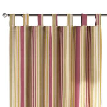 Tab top curtains in collection Londres, fabric: 122-09