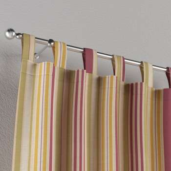 Tab top curtains 130 x 260 cm (51 x 102 inch) in collection Londres, fabric: 122-09