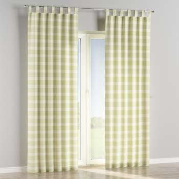 Tab top curtains in collection Rustica, fabric: 140-35