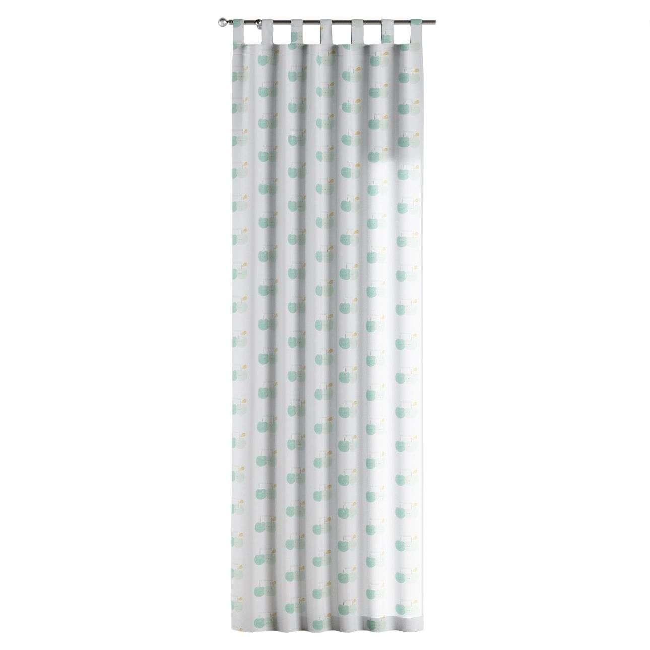 Zasłona na szelkach 1 szt. 1szt 130x260 cm w kolekcji Apanona, tkanina: 151-02