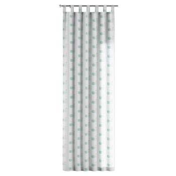 Gardin med hällor 1 längd 130 x 260 cm i kollektionen Apanona , Tyg: 151-02