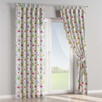 Tab top curtains in collection Apanona, fabric: 151-04