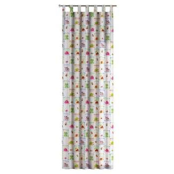 Zasłona na szelkach 1 szt. 1szt 130x260 cm w kolekcji Apanona, tkanina: 151-04