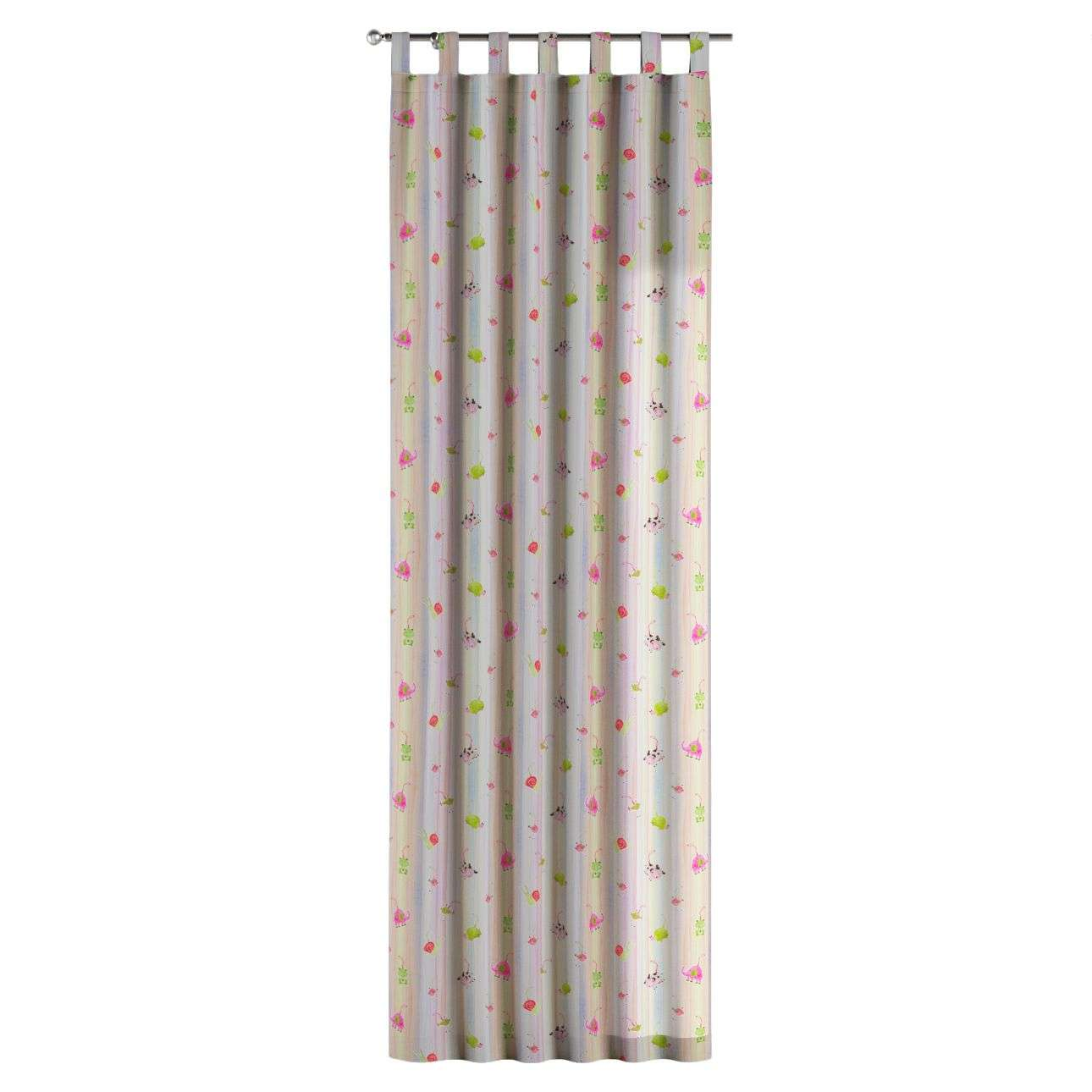 Gardin med hällor 1 längd 130 x 260 cm i kollektionen Apanona , Tyg: 151-05