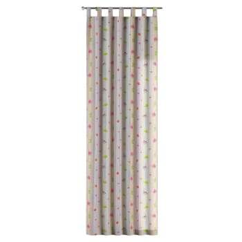 Gardin med hällor 1 längd i kollektionen Apanona, Tyg: 151-05