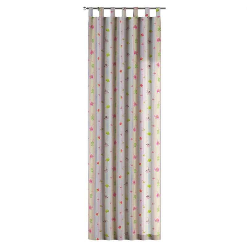 Zasłona na szelkach 1 szt. w kolekcji Apanona do -50%, tkanina: 151-05