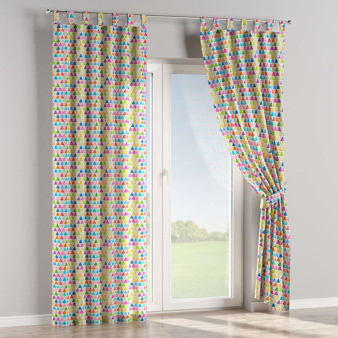Tab top curtains in collection New Art, fabric: 140-27
