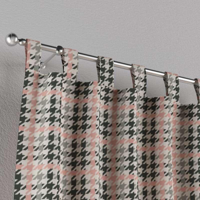 Zasłona na szelkach 1 szt. w kolekcji Wyprzedaż do -50%, tkanina: 137-75