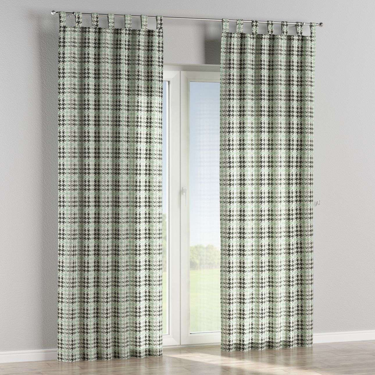 Tab top curtains in collection Brooklyn, fabric: 137-77