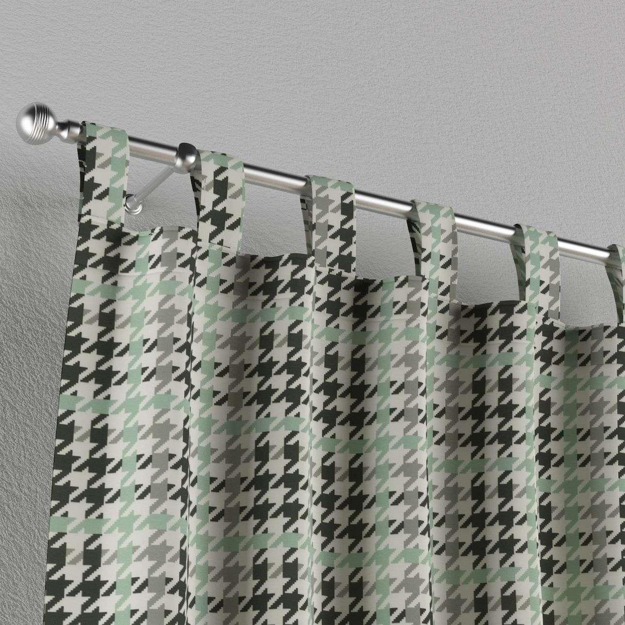 Zasłona na szelkach 1 szt. 1szt 130x260 cm w kolekcji Brooklyn, tkanina: 137-77