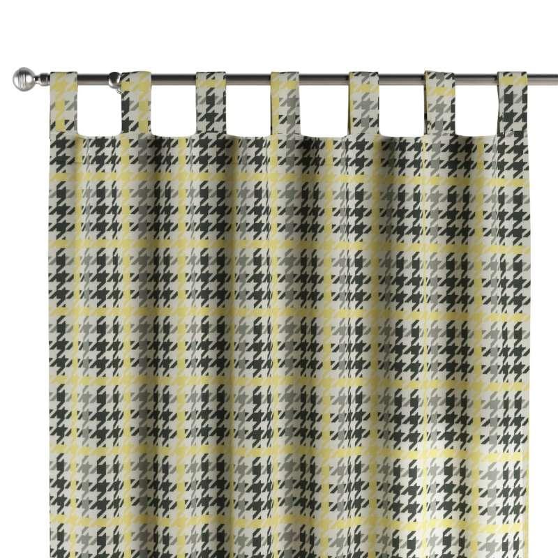 Zasłona na szelkach 1 szt. w kolekcji Brooklyn, tkanina: 137-79