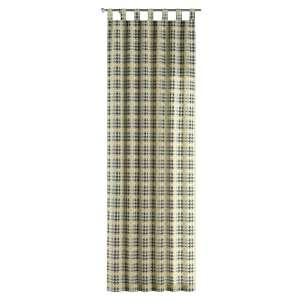 Gardin med hällor 1 längd 130 x 260 cm i kollektionen Brooklyn , Tyg: 137-79