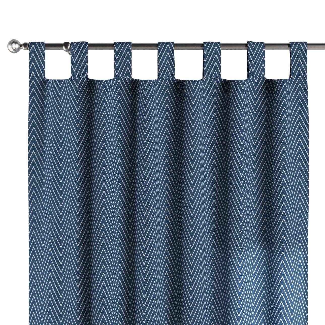 Gardin med stropper 1 stk. 130 × 260 cm fra kolleksjonen Brooklyn , Stoffets bredde: 137-88