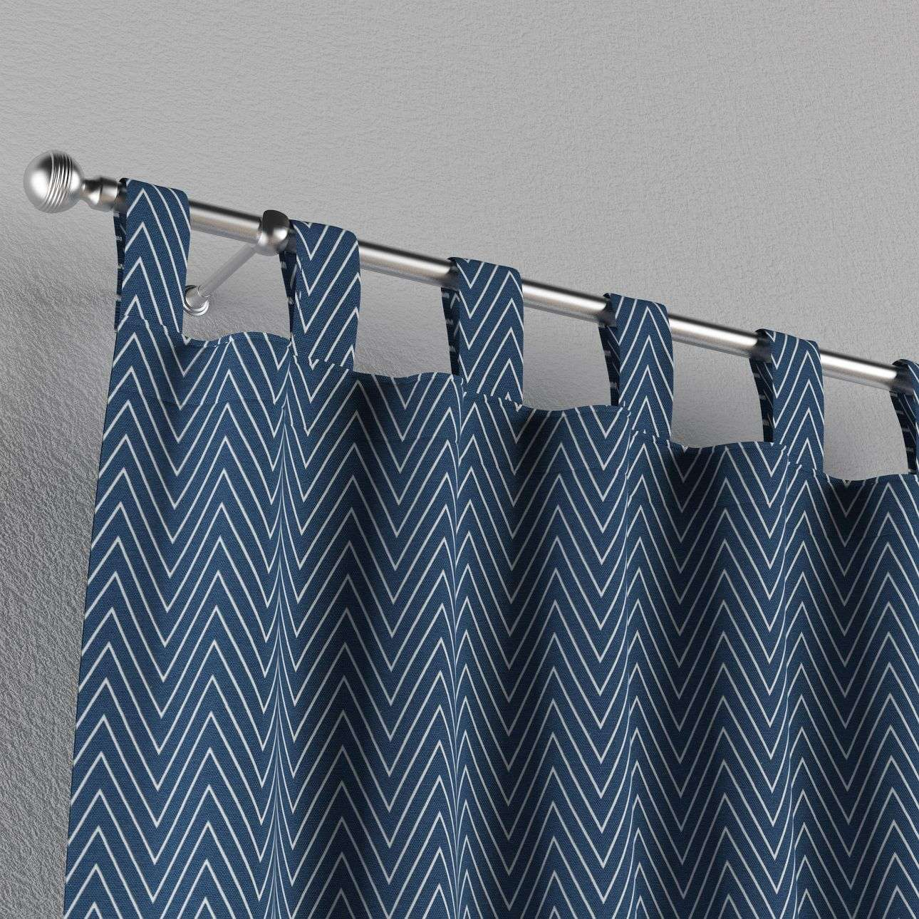 Tab top curtains 130 x 260 cm (51 x 102 inch) in collection Brooklyn, fabric: 137-88