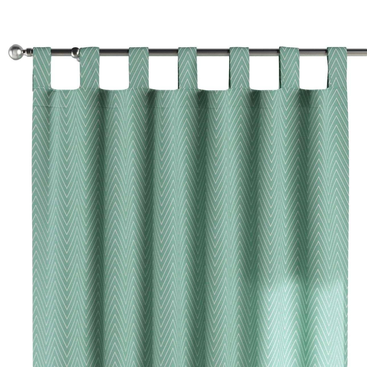 Gardin med hällor 1 längd 130 x 260 cm i kollektionen Brooklyn , Tyg: 137-90