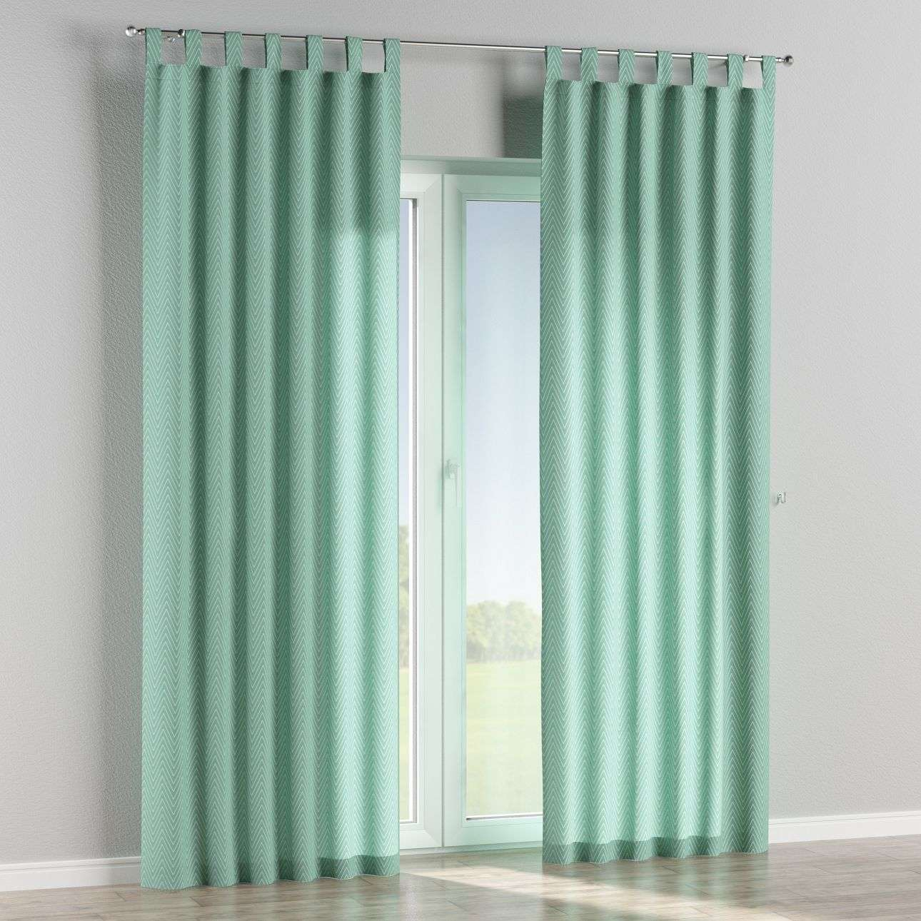 Tab top curtains in collection Brooklyn, fabric: 137-90