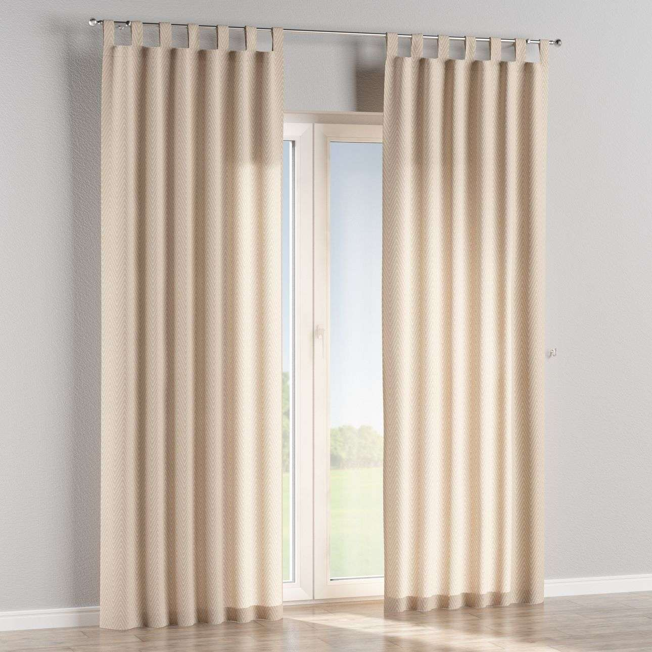 Tab top curtains in collection Brooklyn, fabric: 137-91
