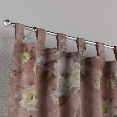 Záves na pútkach V kolekcii Flowers, tkanina: 137-83