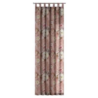 Zasłona na szelkach 1 szt. w kolekcji Flowers, tkanina: 137-83