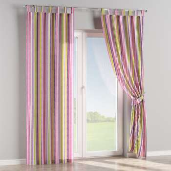 Tab top curtains 130 x 260 cm (51 x 102 inch) in collection Monet, fabric: 140-01