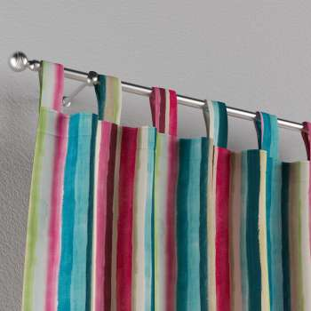 Tab top curtains in collection Monet, fabric: 140-09