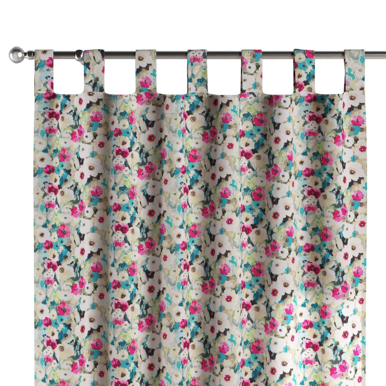 Tab top curtains in collection Monet, fabric: 140-10