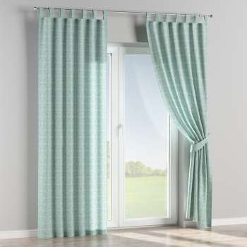 Tab top curtains in collection Flowers, fabric: 140-37