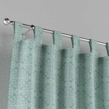 Tab top curtains 130 x 260 cm (51 x 102 inch) in collection Flowers, fabric: 140-37