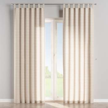 Tab top curtains in collection Flowers, fabric: 140-39