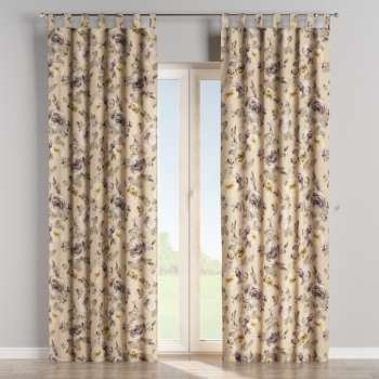 Tab top curtains 130 × 260 cm (51 × 102 inch) in collection Londres, fabric: 140-44
