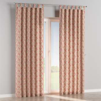 Tab top curtains in collection Londres, fabric: 140-45