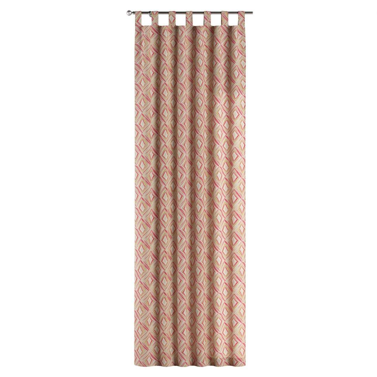 Tab top curtains 130 × 260 cm (51 × 102 inch) in collection Londres, fabric: 140-45