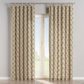 Tab top curtains 130 × 260 cm (51 × 102 inch) in collection Londres, fabric: 140-46