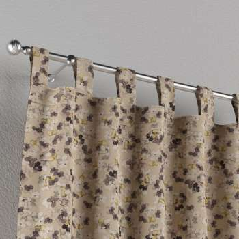 Tab top curtains 130 × 260 cm (51 × 102 inch) in collection Londres, fabric: 140-48