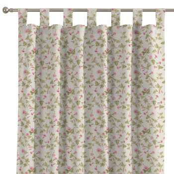 Tab top curtains in collection Mirella, fabric: 140-41